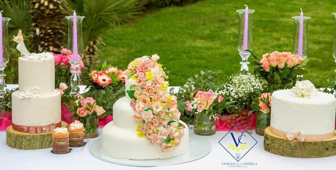 Come allestire lo sweet table per il matrimonio